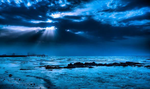 Blue Sunset by Hamrani