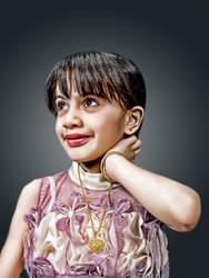Hasselblad Test: My daughter B by Hamrani