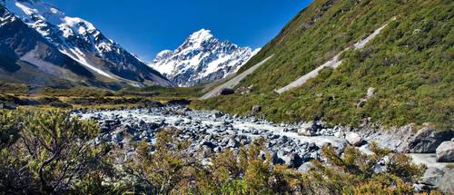 Mount Cook by Hamrani
