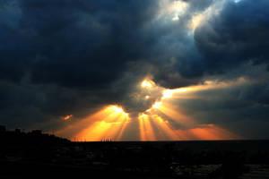 Sun Rays by Hamrani