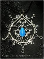 Caged Tear pendant by Antonymi1