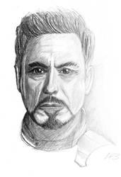 RDJ Sketch by roguepilot