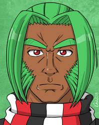 Character Etude 37 - Iapetus by OmegaDez