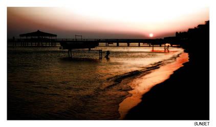 Sunset by tenotti