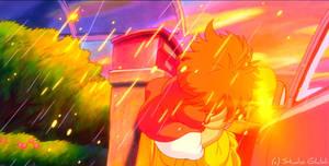 True Love - Ponyo Wallpaper by sirdaftodill