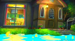 Through the Window - Ponyo Wallpaper by sirdaftodill