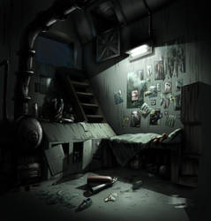 Kid's Room Night by MeckanicalMind