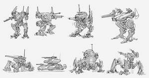 Mech Thumbnails by MeckanicalMind