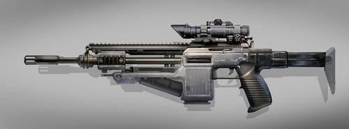 Assault Rifle by MeckanicalMind