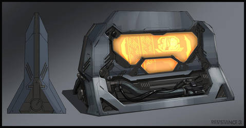 R3 Chimera Console by MeckanicalMind