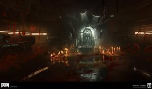 DOOM - Suit Room Lighting by MeckanicalMind