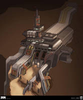 DOOM - Resource Operations Exterior Design by MeckanicalMind