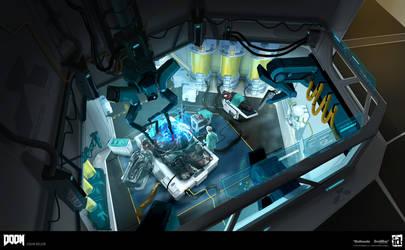DOOM - Lazarus Labs Previs by MeckanicalMind