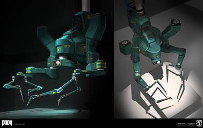 DOOM - Surgery Robot by MeckanicalMind