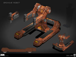 DOOM - Archive Robot by MeckanicalMind