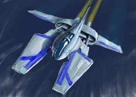 NuStar Fighter by MeckanicalMind