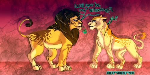 .:Will you be my Valentine.: by Saiicret