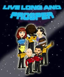 Live Long and Prosper by Ryujisama