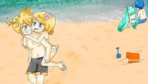 ~Summer in the beach~ by BLEEDFan95