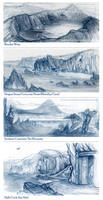 Pern: enviro sketches by tygriffin