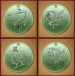 Chinese Zodiac 2 by Darkhanna