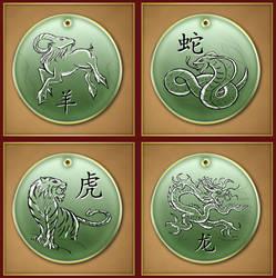 Chinese Zodiac 3 by Darkhanna