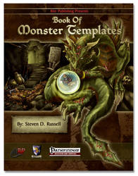 Book of Monster Templates by Darkhanna