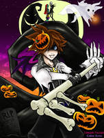 Halloween Town Sora -color- by ikena