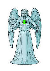 Weeping Angel of the Omnitrix by puma7372