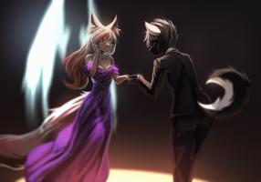 In for a dance? by fruitbloodmilkshake