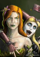Ivy and Harley by JimmyNijs