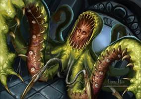Eldritch Creature by JimmyNijs