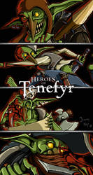 Heroes of Tenefyr - Goblins by JimmyNijs