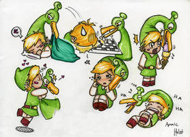 Link in Minish Cap by Jacyll