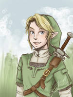 Link, here come to town by Jacyll