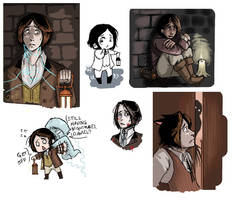 iScribble- Amnesia fanart 2 by Jacyll