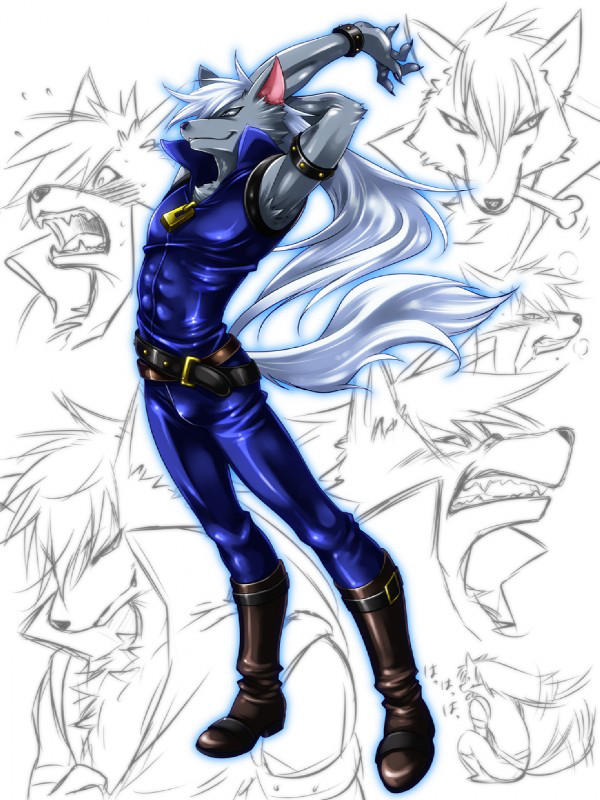 Wolfrun The Bad Wolf Man By Princesspuccadominyo On Deviantart