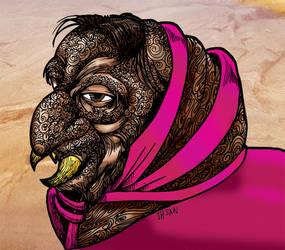 Pink Riding Hood by ihsans-Art