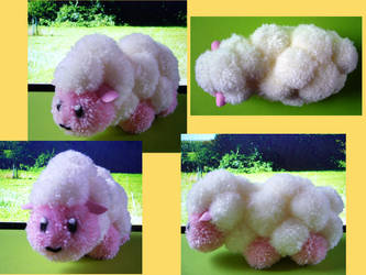 Harvest Moon Pompom Sheep by chibichanalex