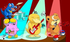 Band Pokemon by Fluffy-Pixel-Artist