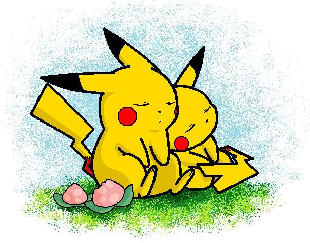 sleeping Pikachus by Fluffy-Pixel-Artist