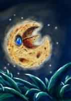 shining moon by Fluffy-Pixel-Artist