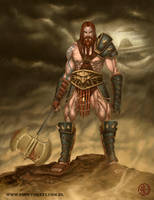 Barbarian by d-torres