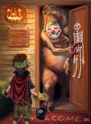 Happy Halloween by d-torres