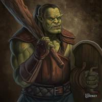 Orc Conscript by d-torres