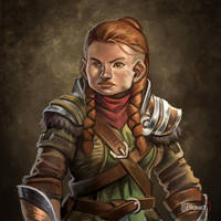 Bedda the Dungeoneer by d-torres