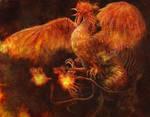 fire bird by Satoshi-Takahara