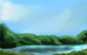 Free to use digital backgrounds lake by TiggTigg