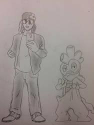 Jake and Scrafty by dragonman12