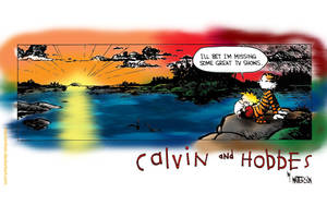 Calvin and Hobbes by MacIomhair
